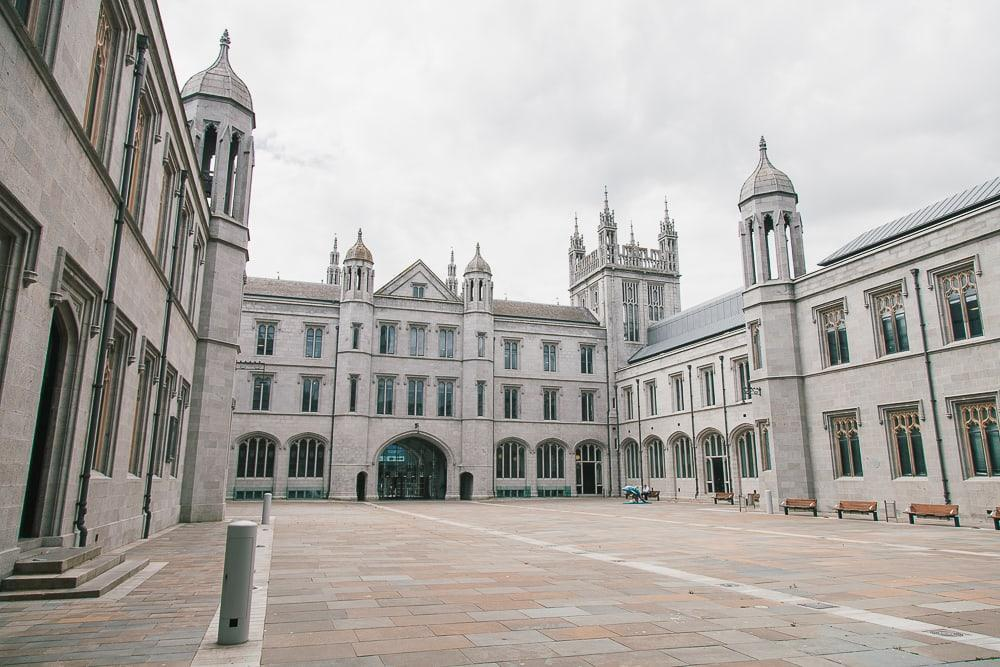 Marischal College aberdeen scotland