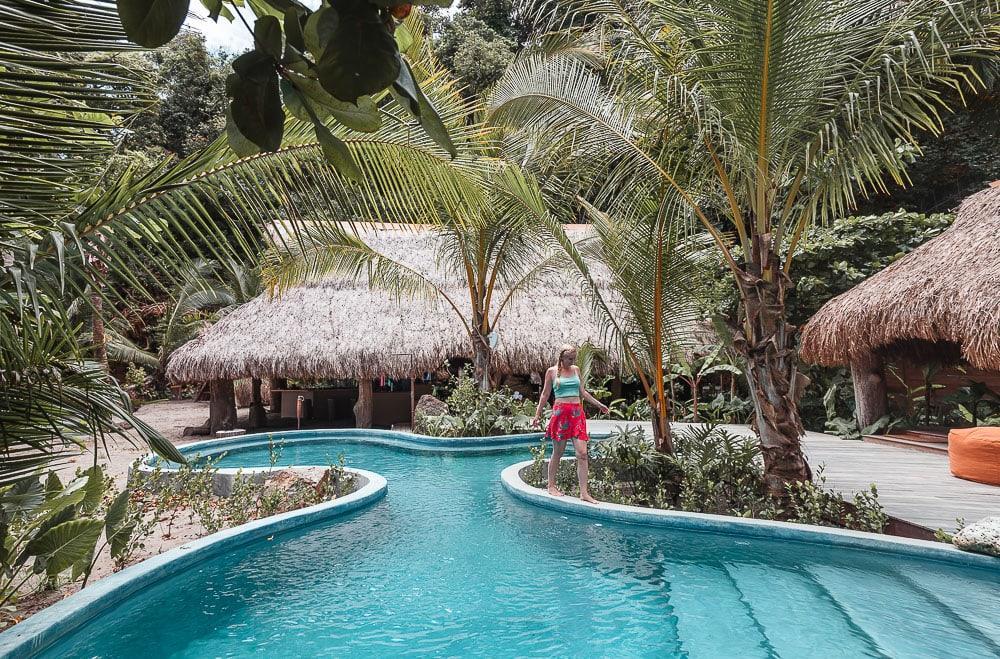 isla palenque resort pool gulf of chiriqui panama