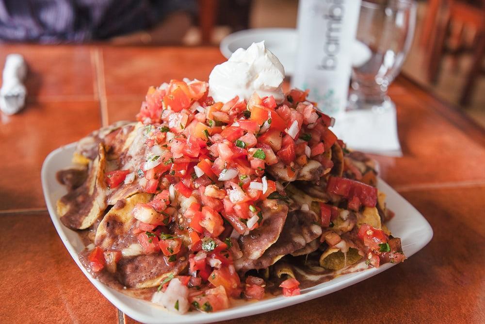 la posada boquete panama nachos