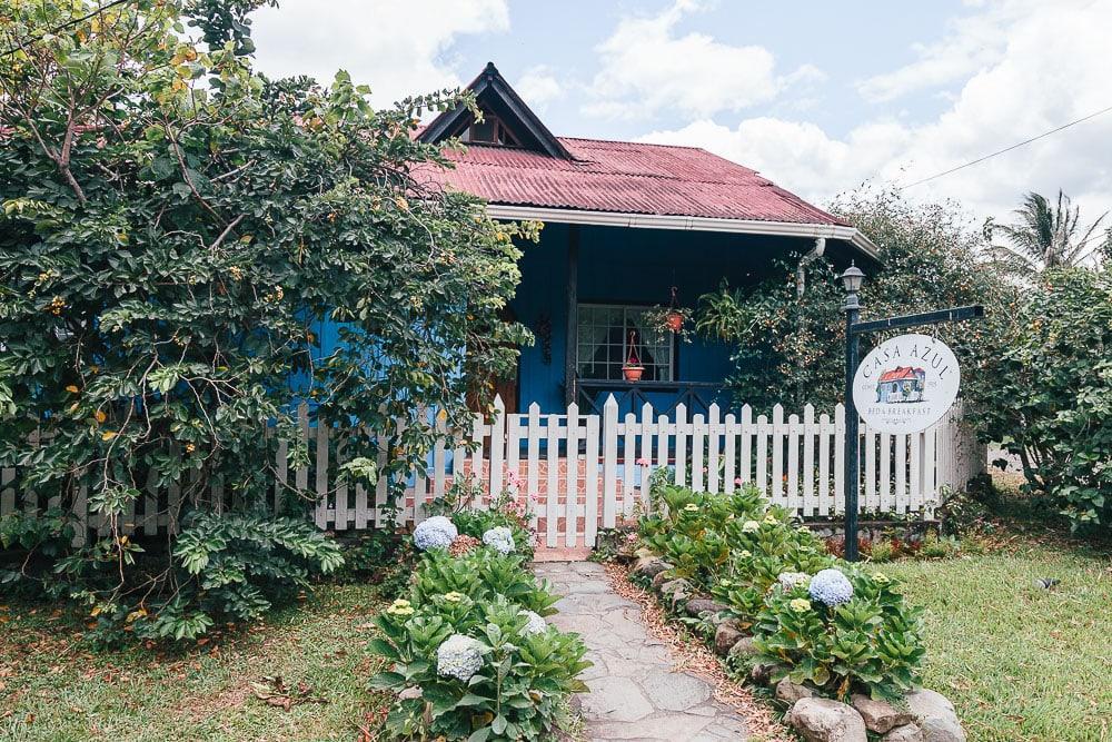 casa azul boquete panama