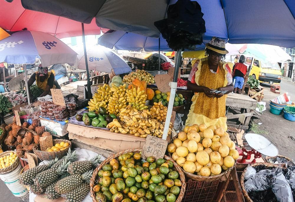 georgetown guyana market