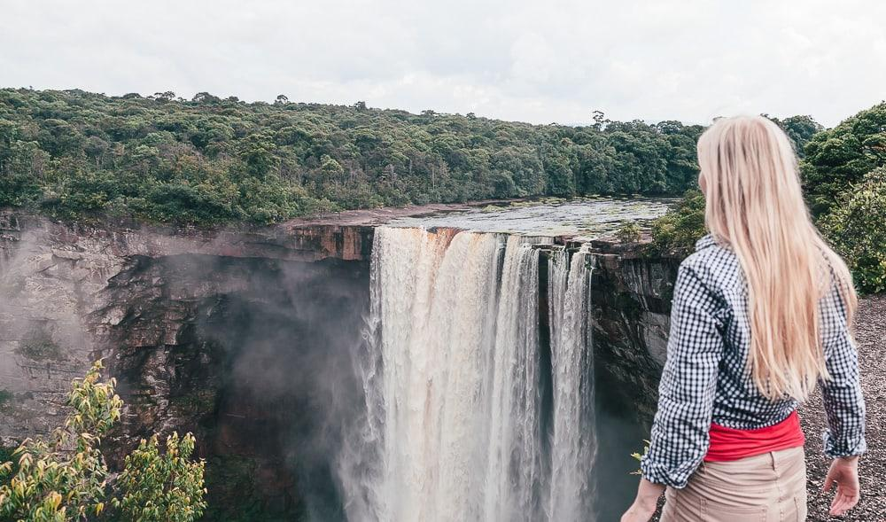 kaitur falls guyana