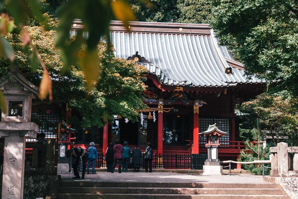 atami city shrine shizuoka japan