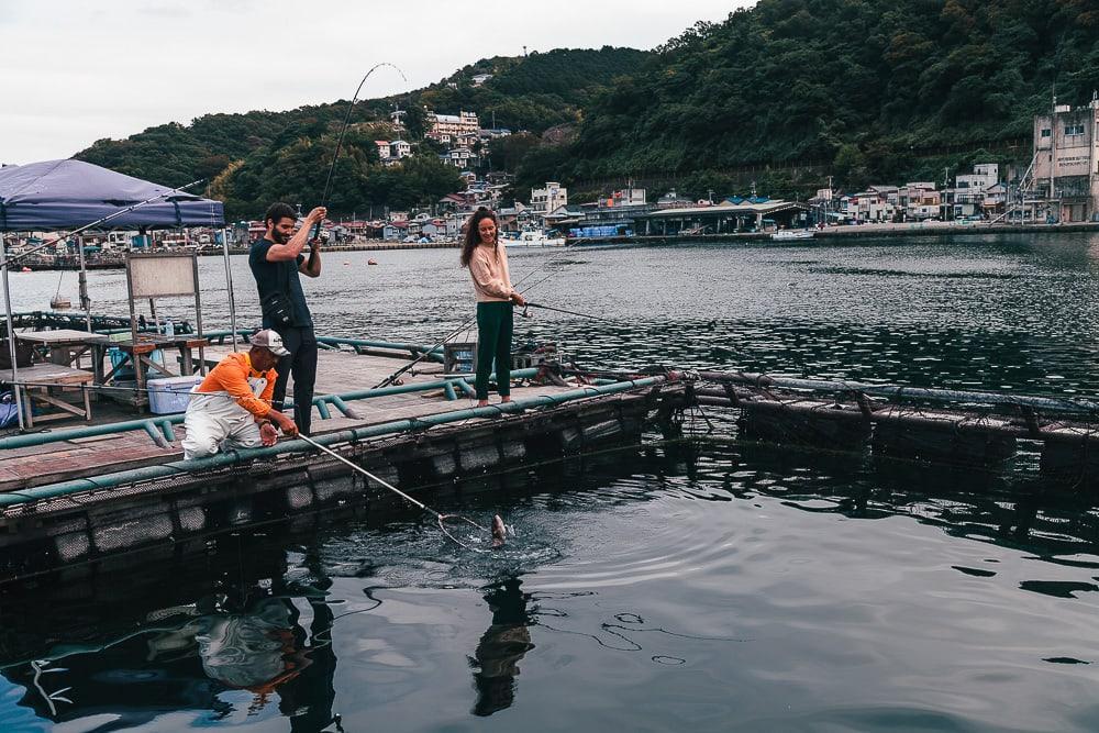 ajiro port fishing atami shizuoka japan