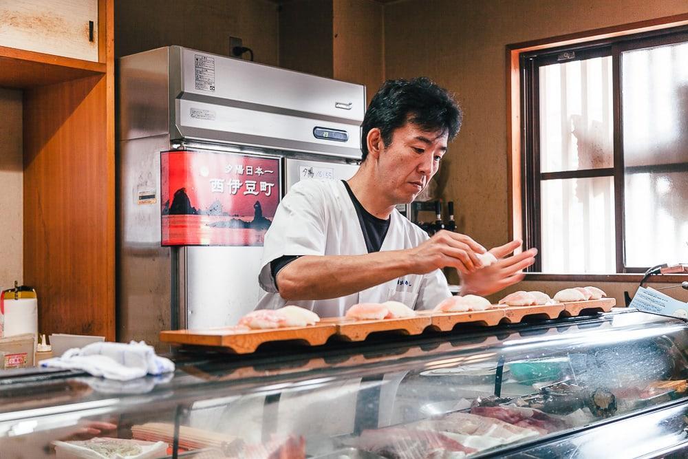 Kaisen-don Kao Sushi dogashima japan