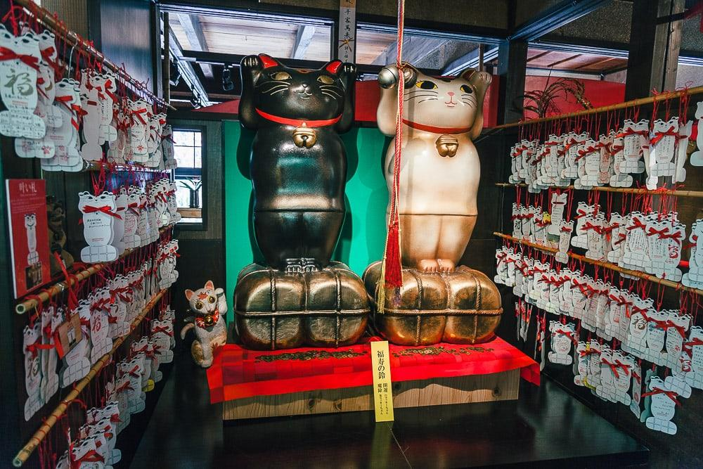 Manekineko museum okayama japan