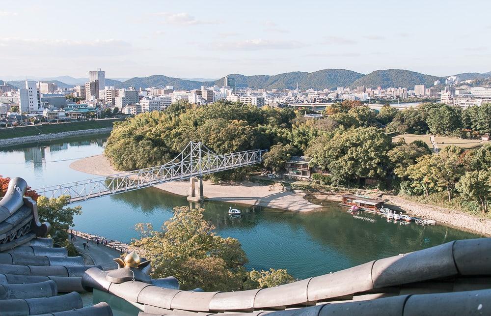 okayama castle japan view