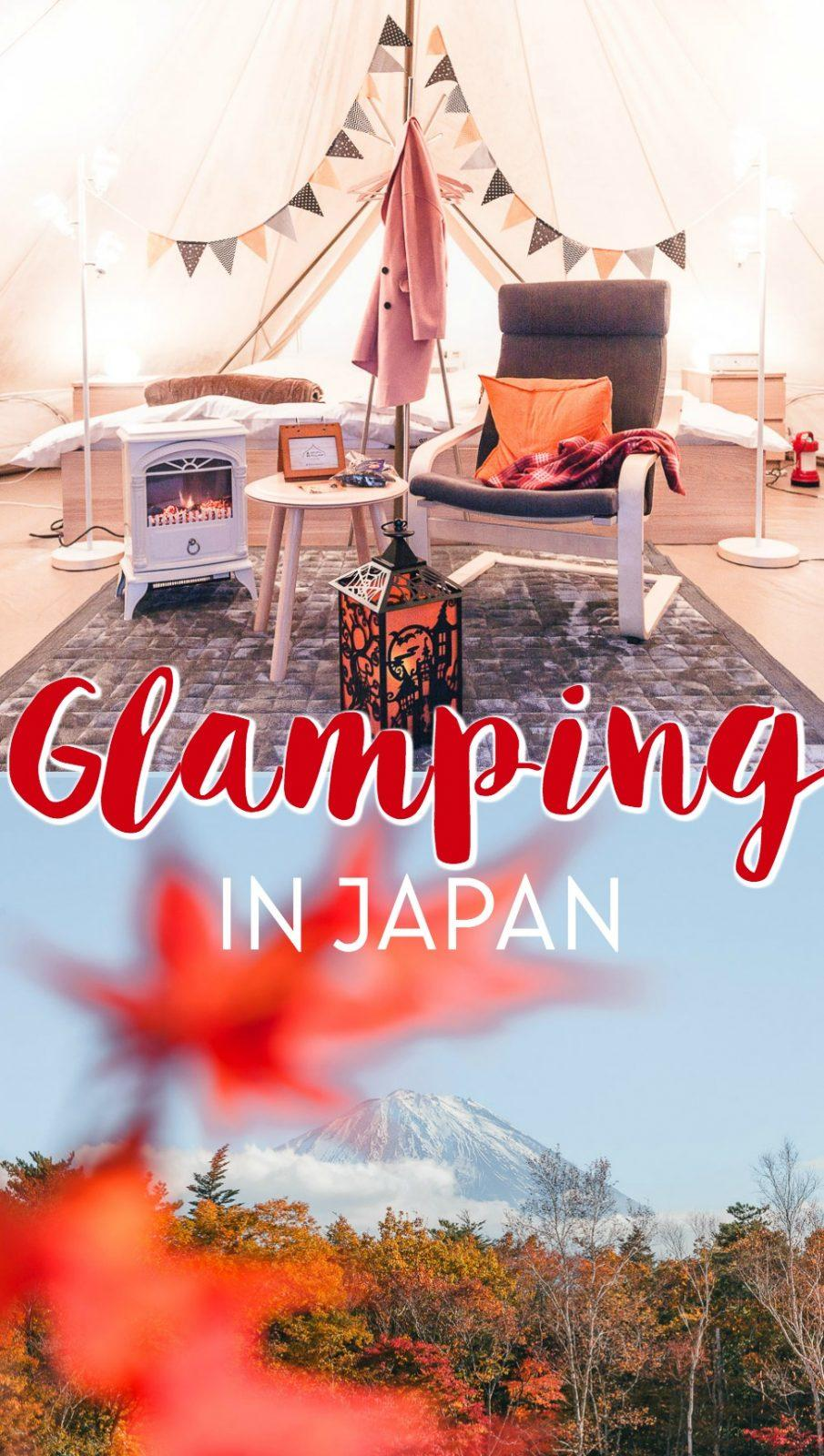 Camping in Japan: 3 Day Itinerary from Tokyo to Mount Fuji with Japanese glamping accommodation