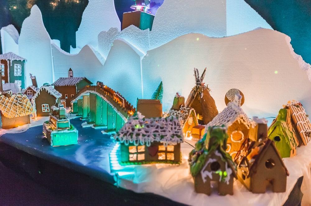 gingerbread village bodø public library