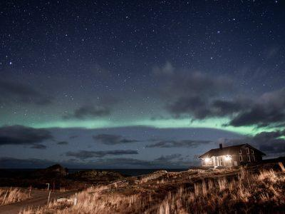 Horseback Riding Under the Northern Lights in Lofoten