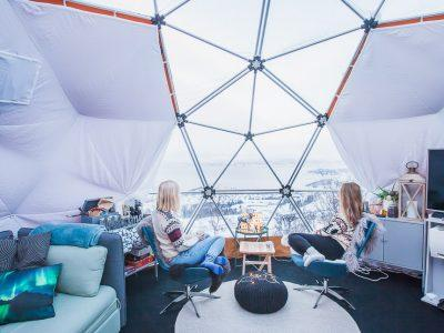 Staying in an Arctic Dome in Narvik, Norway
