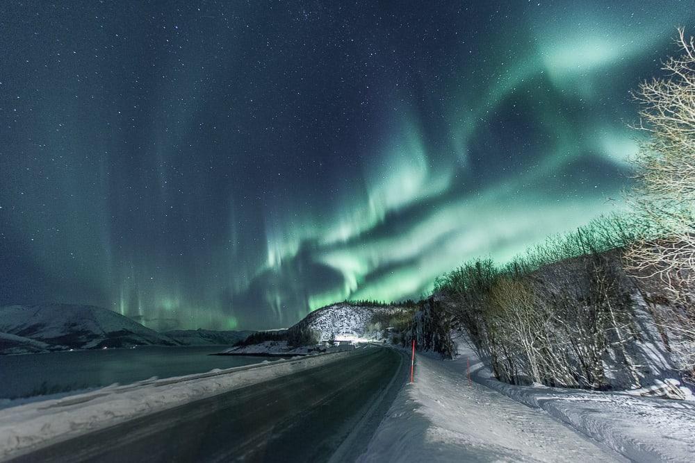 aurora borealis mosjøen norvège