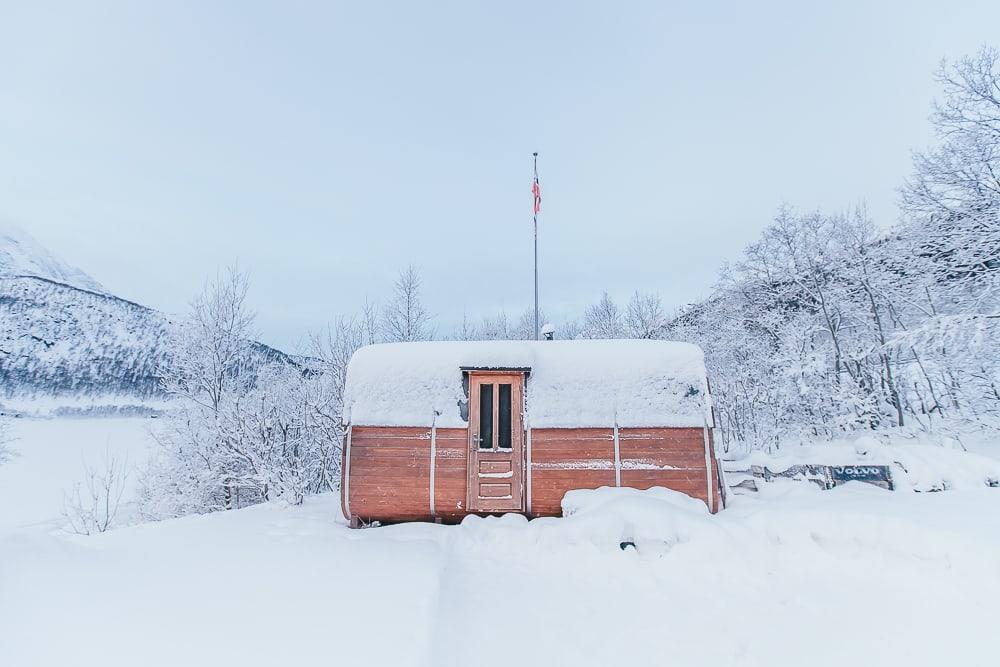 vesterålen norway airbnb sauna