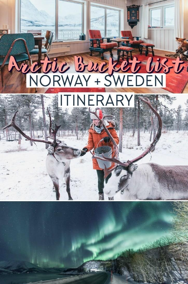 A one - two week itinerary for Arctic Norway and Sweden