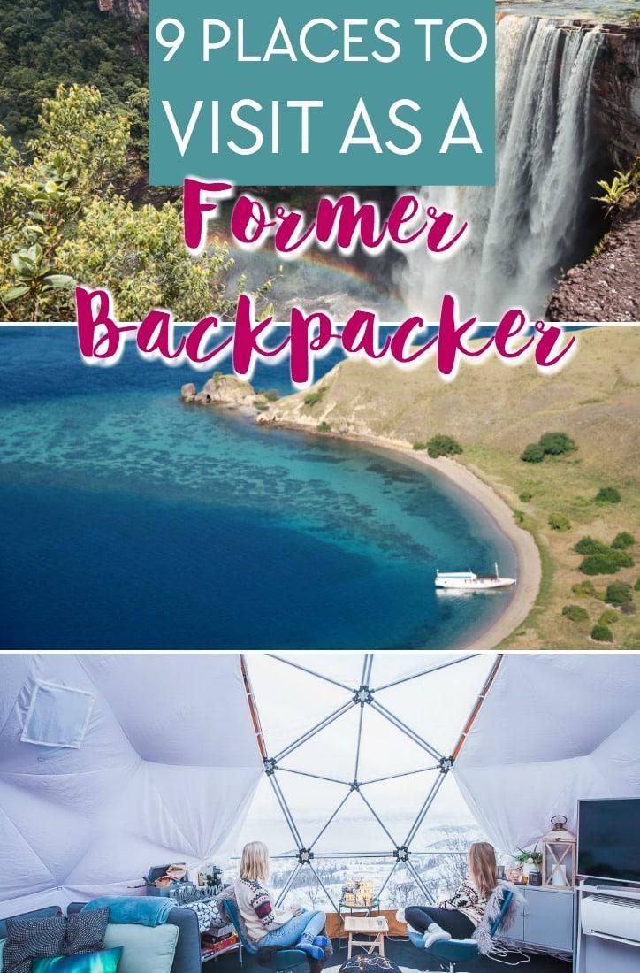 places to visit as a former backpacker: the arctic, Bangkok Thailand, Indonesia, San Blas, Sao Tome, Pakistan, Kurdistan, Guyana, Comoros