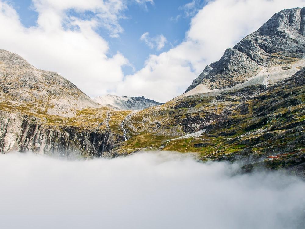 trollstigen norway clouds