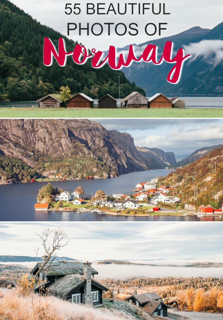 55 most beautiful photos of Norway