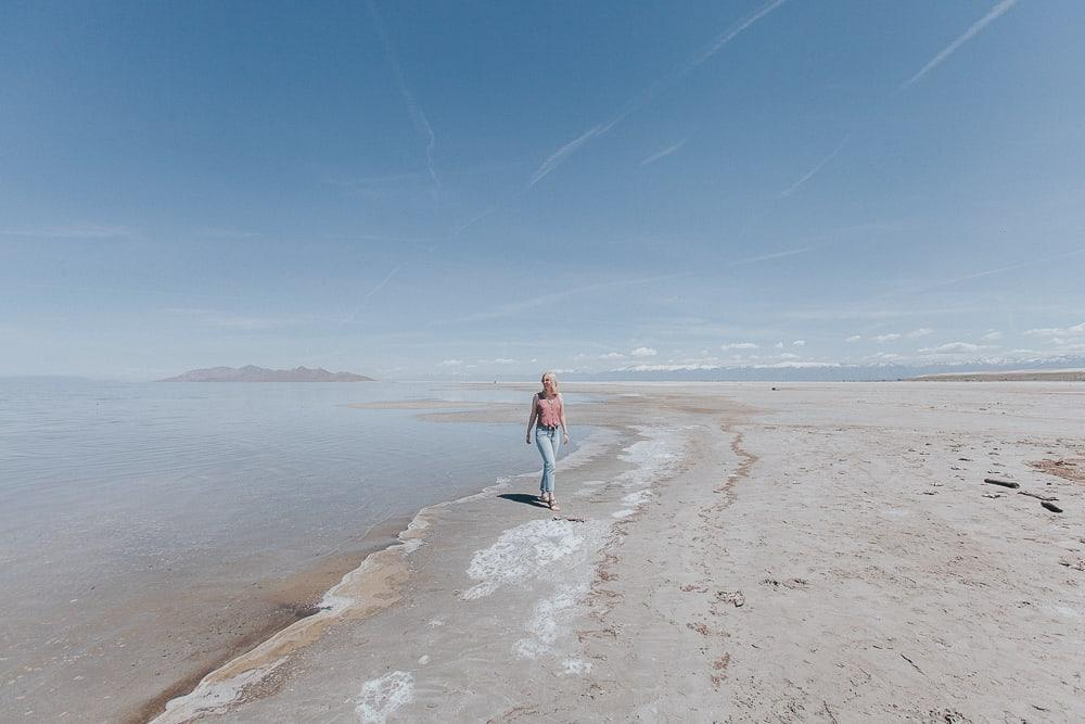 the great salt lake utah
