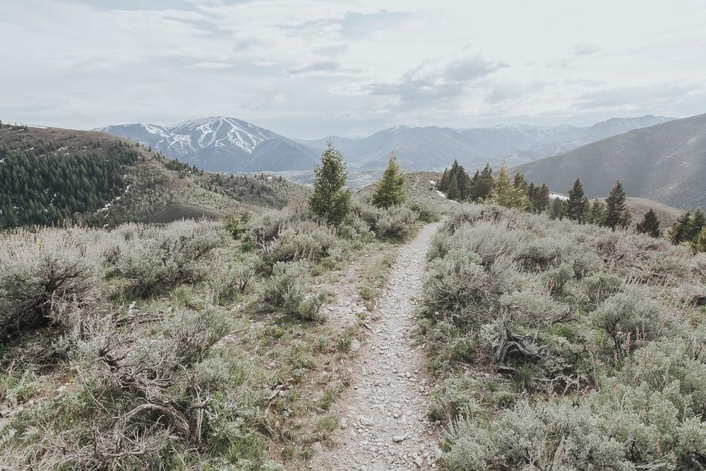 Proctor Mountain loop hike Ketchum Idaho