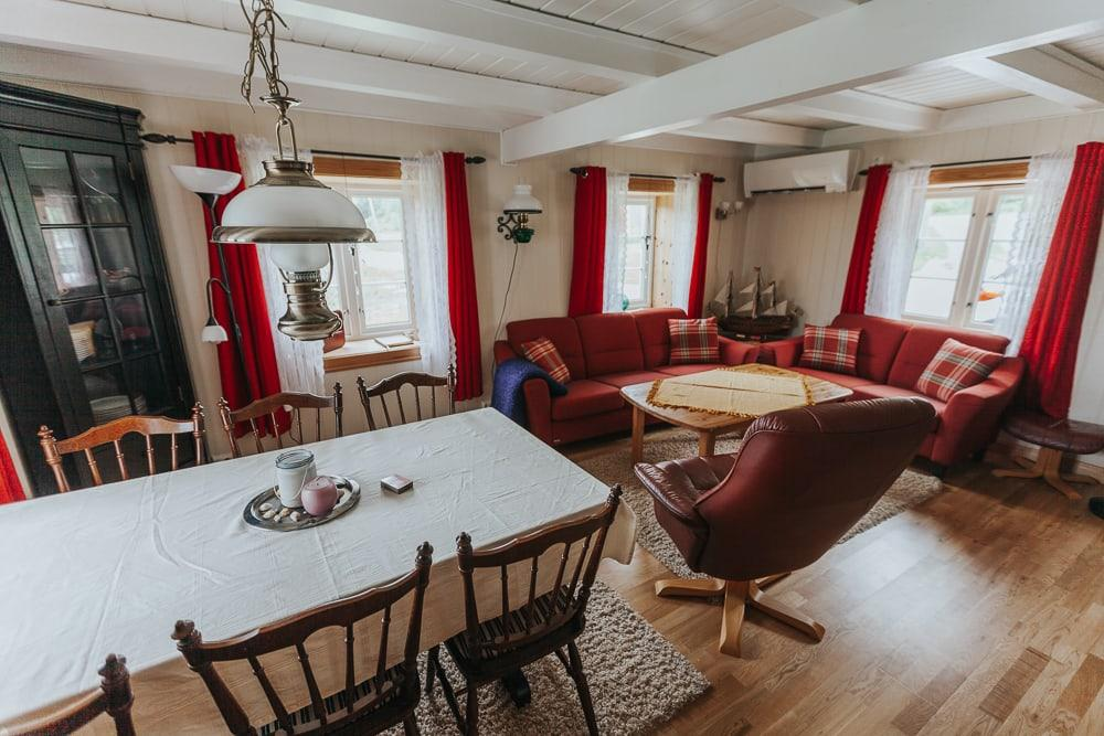 dønna airbnb accommodation helgeland coast
