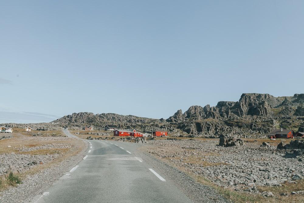 varanger tourist road norway