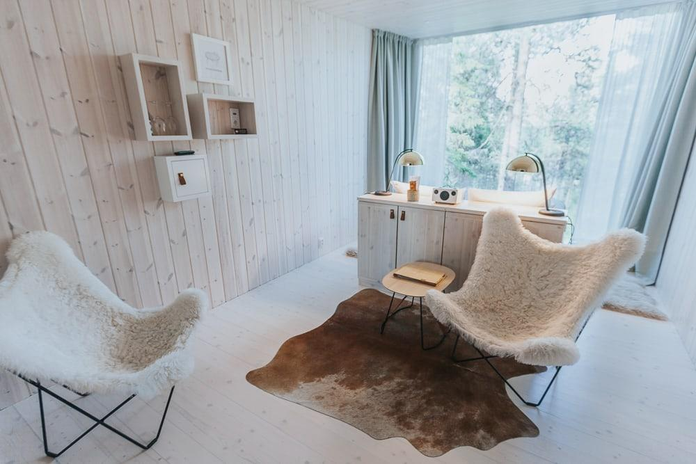 arctic treehouse hotel rovaniemi finland