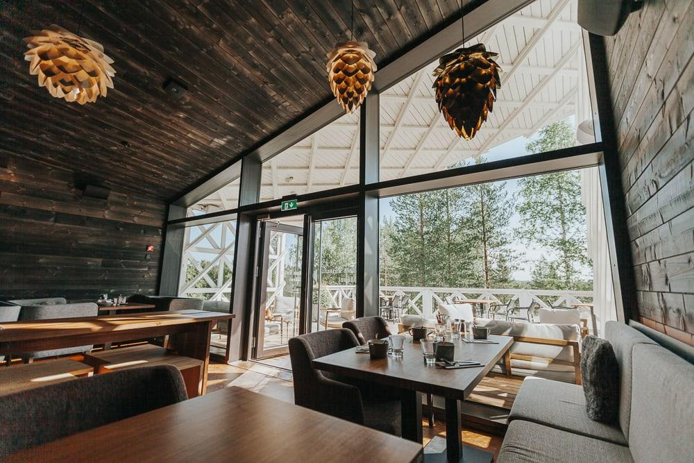 arctic treehouse hotel restaurant rovaniemi finland