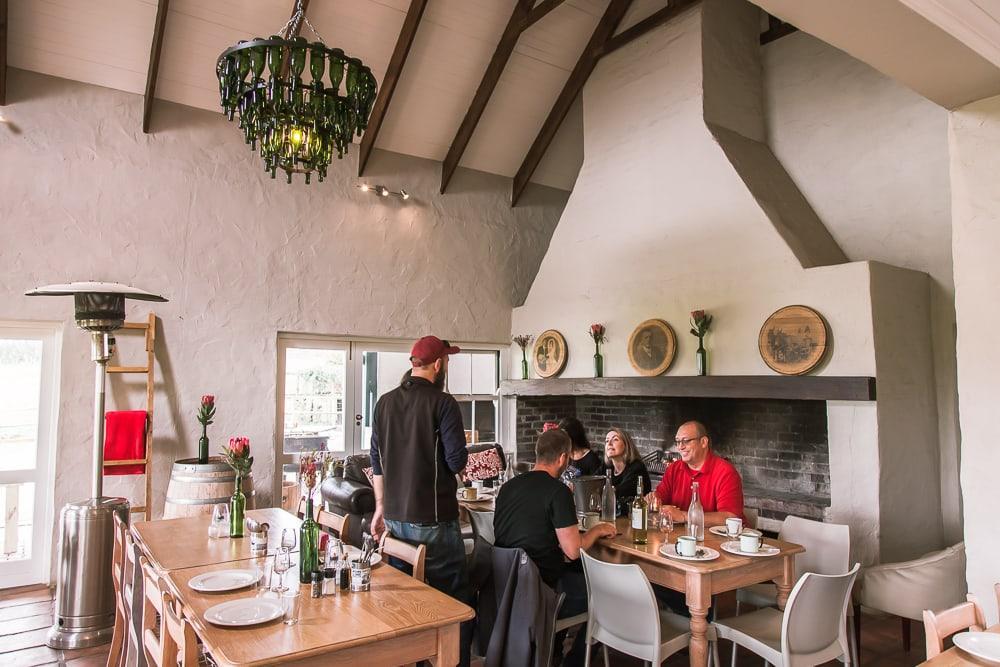 Middelvlei braai lunch stellenbosch south africa