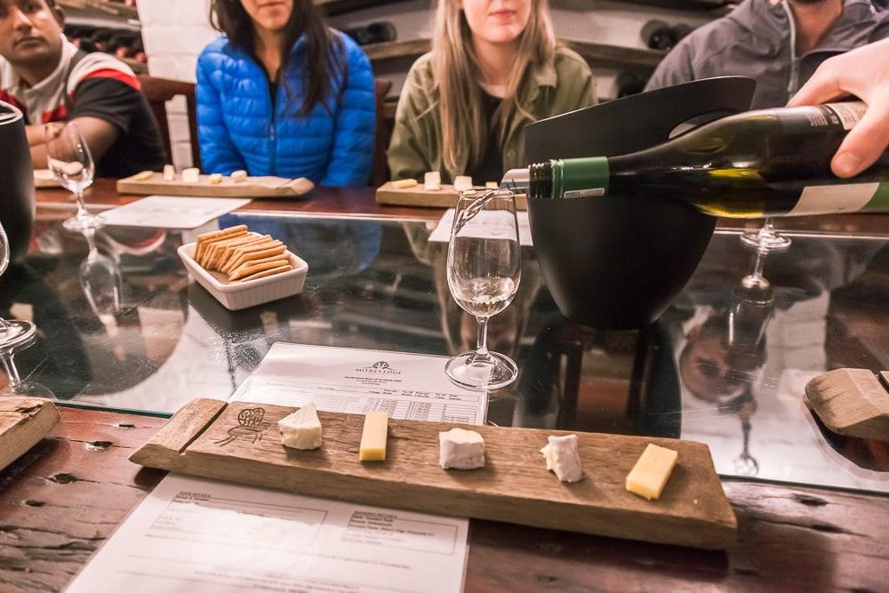 Mitre's Edge stellenbosch wine tasting wine flies tour