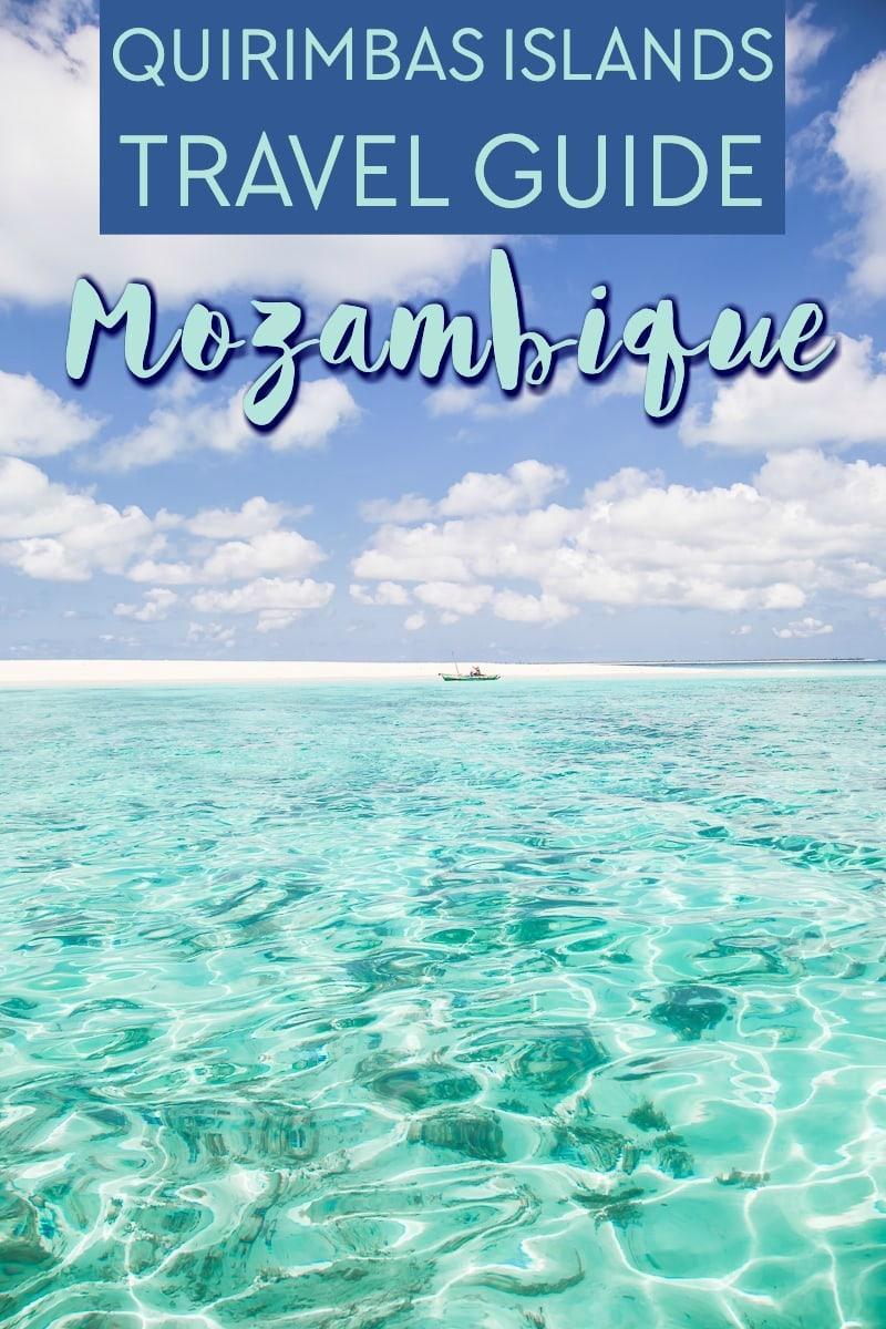 quirimbas islands travel guide mozambique