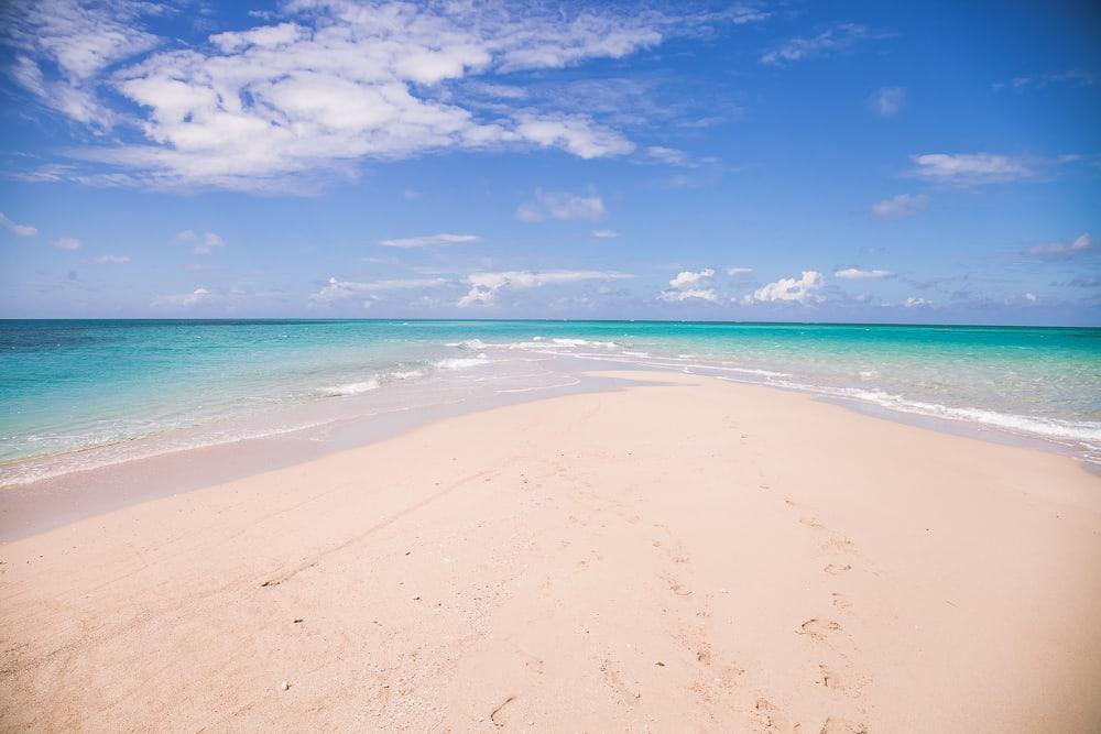 sand bar quirimbas archipelago mozambique