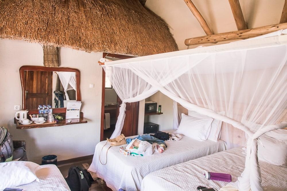 chitengo montebelo bungalow gorongosa national park mozambique