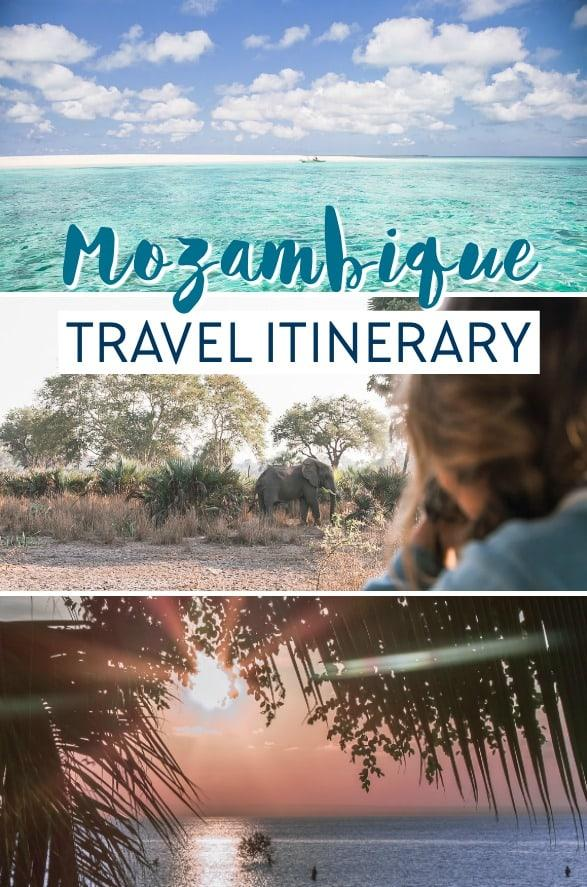 mozambique travel guide three week itinerary