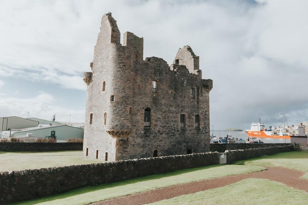 Scalloway Castle Shetland Ecosse