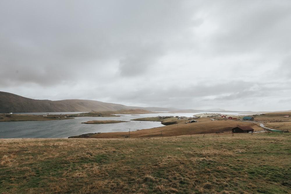 Burra Shetland Peninsula en octobre