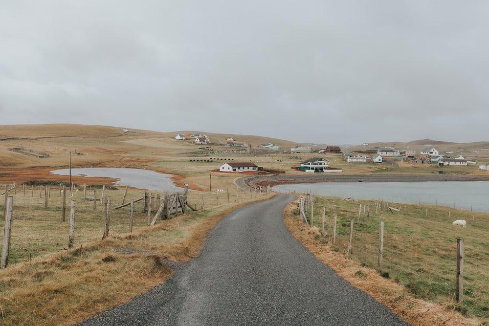Burra Shetland Peninsula