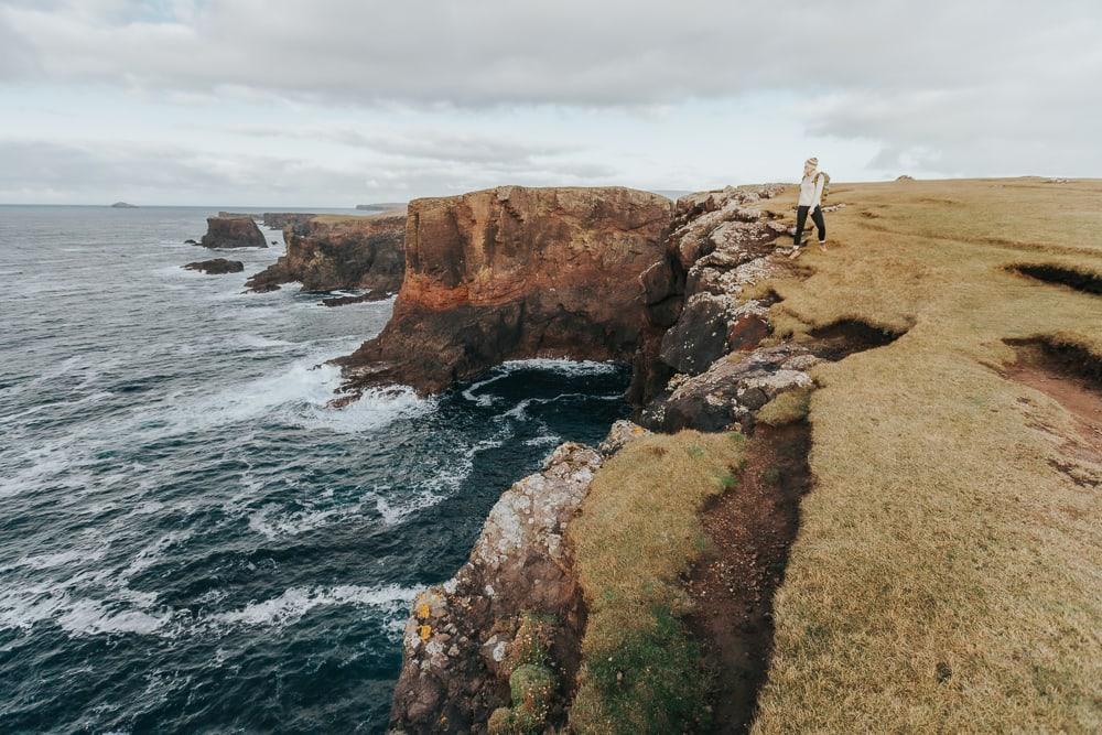 Eshaness Shetland Cliffs