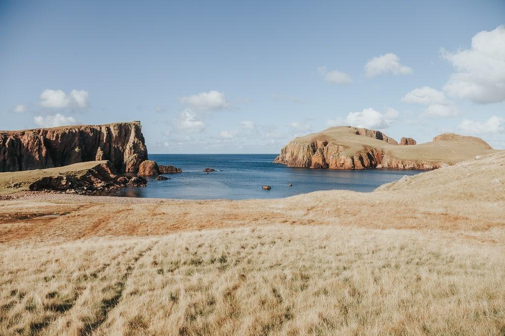 hams of roe on muckle roe coastal walk shetland