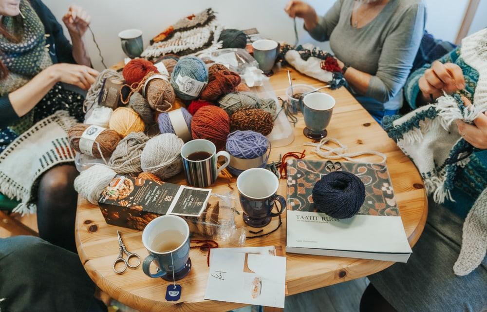 semaine de la laine de shetland