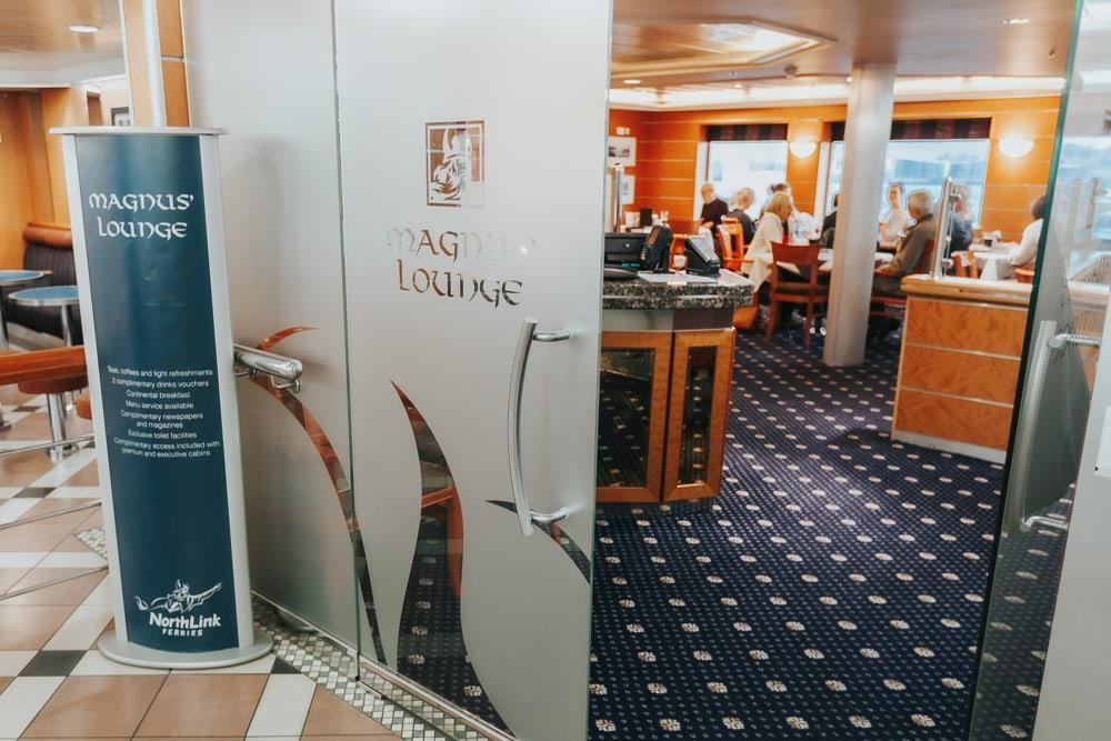 magnus lounge on northlink ferry to shetland