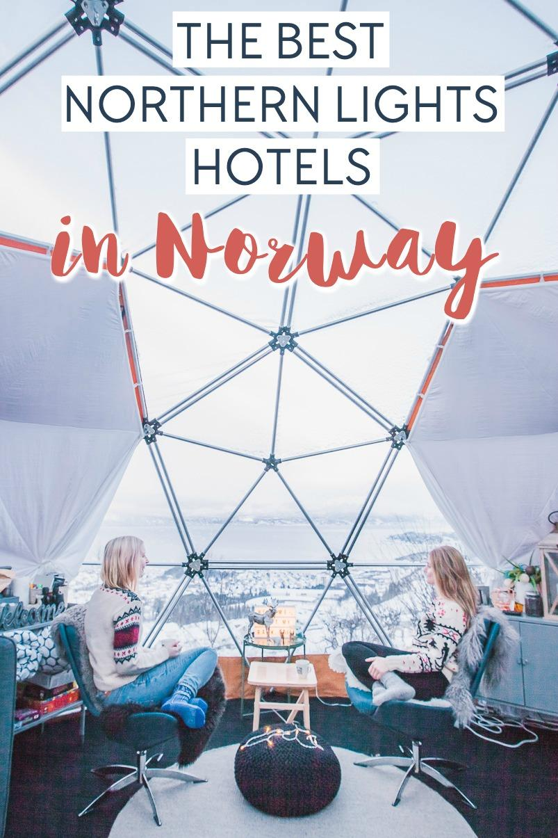 the best northern lights hotels in norway
