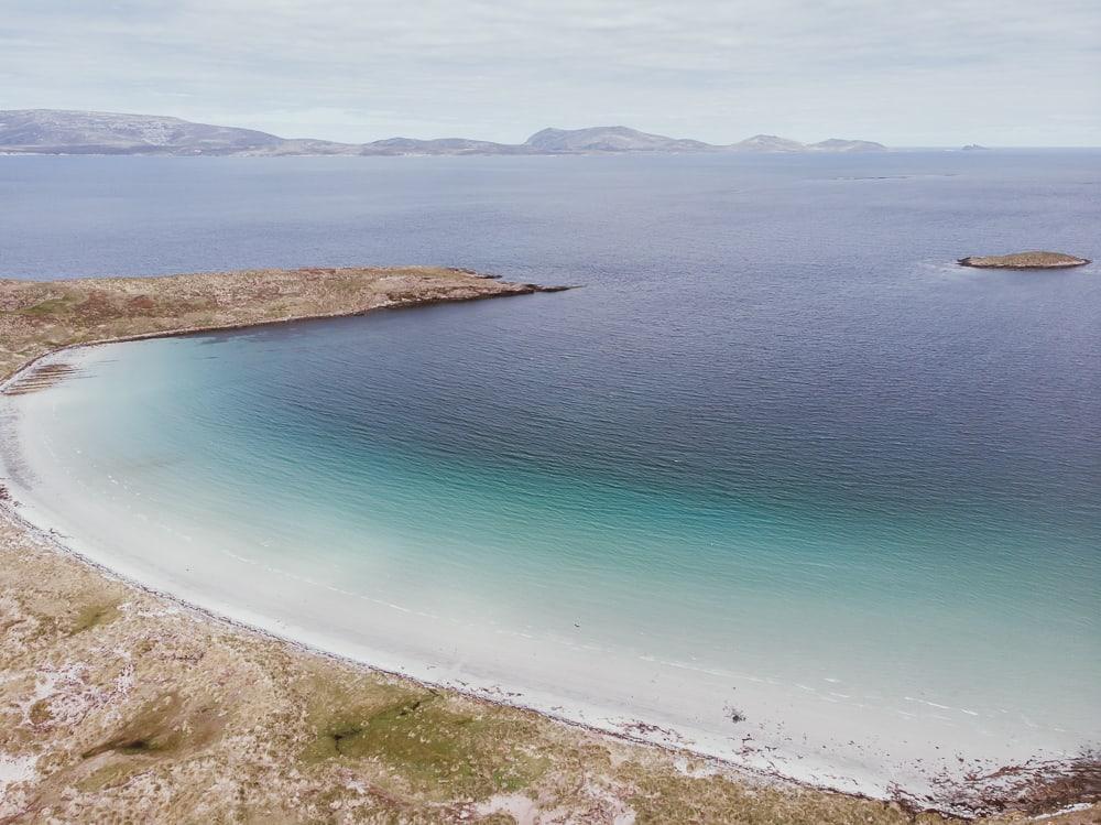 falkland islands beaches carcass island