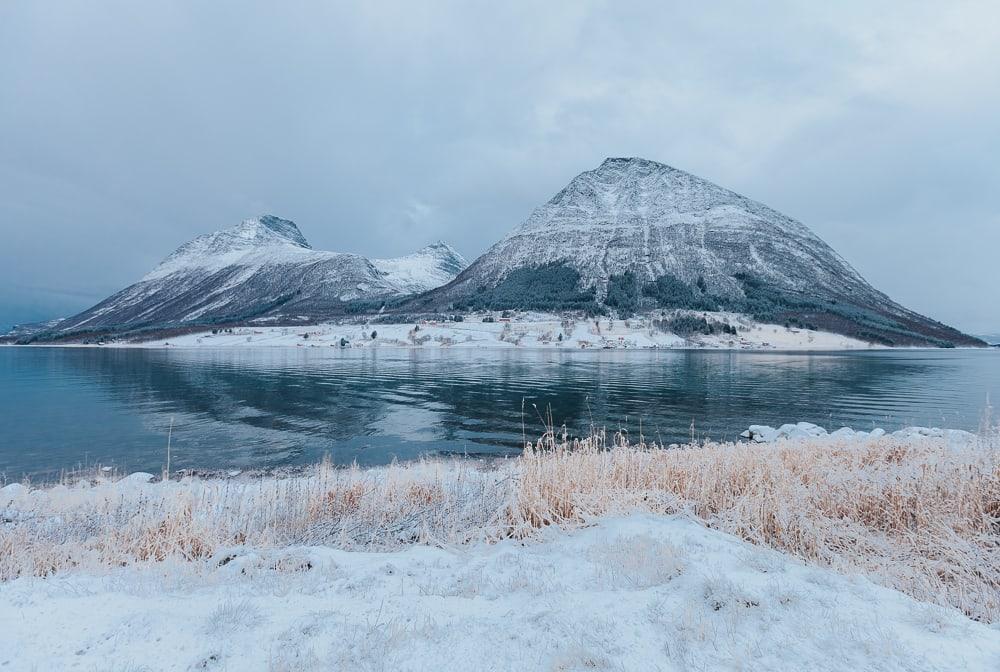 Côte de Helgeland en hiver Norvège