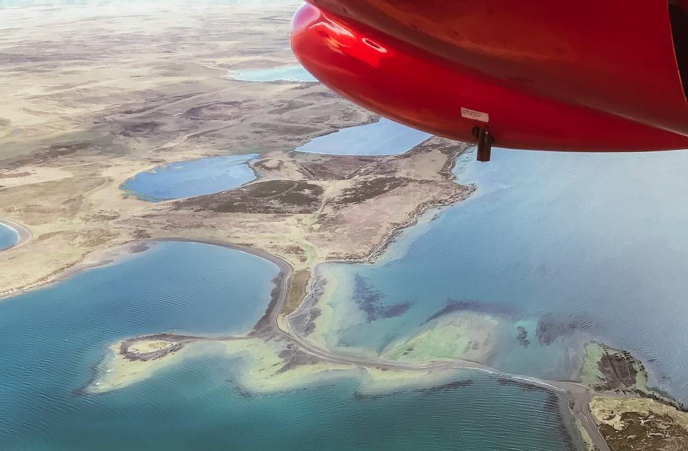 falkland islands figas flight