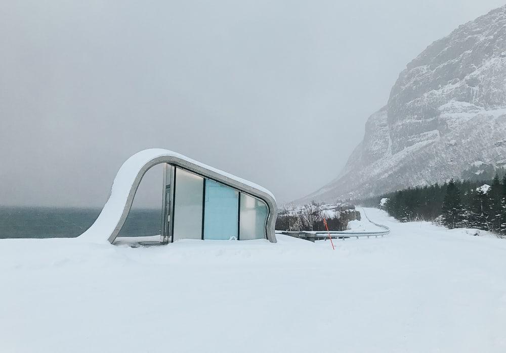 côte helgeland toilettes publiques norvégiennes