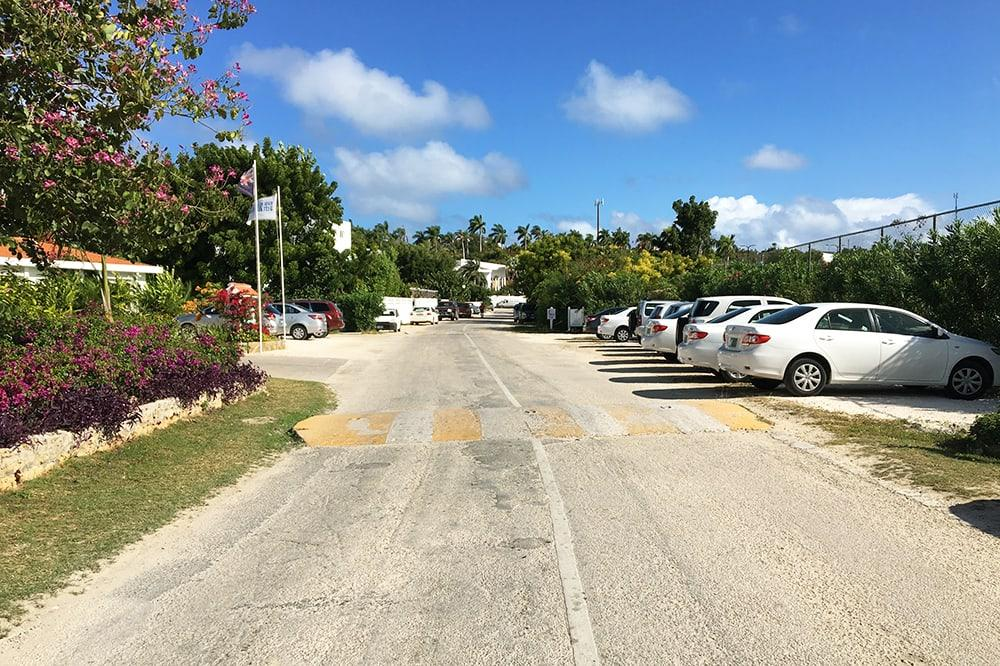 Anguilla Road leading to Carimar Beach Club