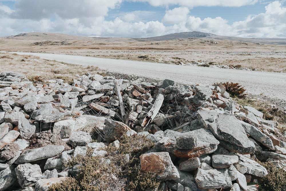falkland islands battlefield tour
