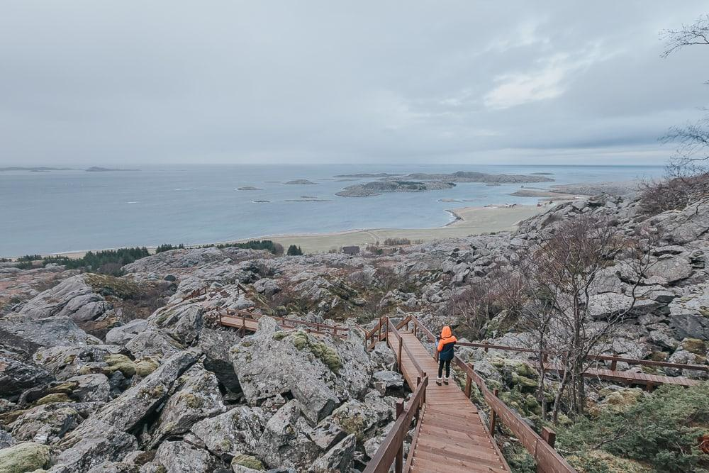 vega vegatrappa hike norway