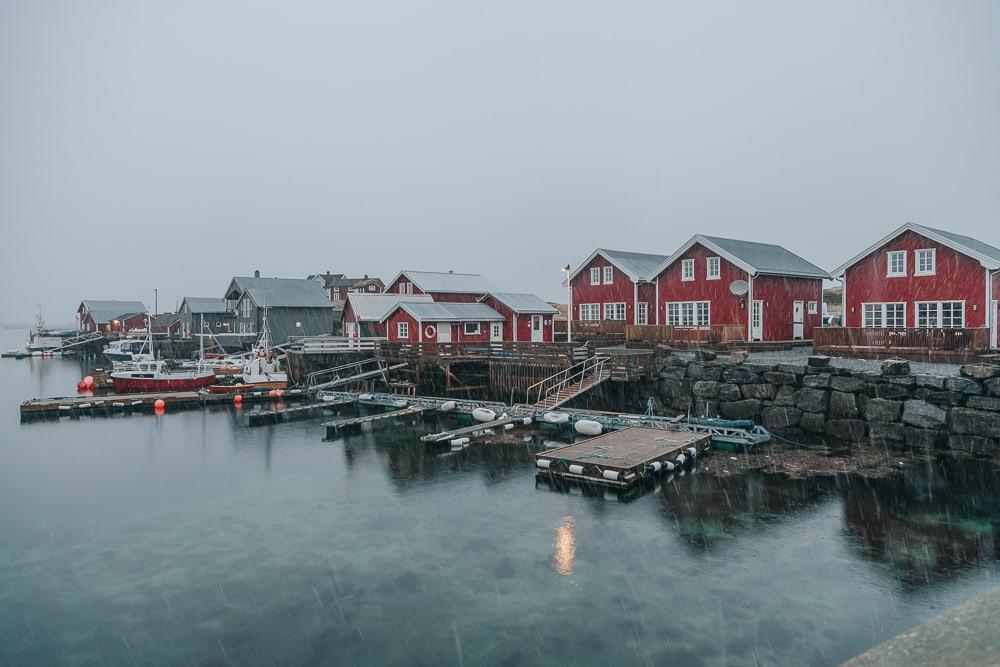 sea cabins vega norway