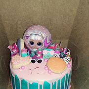 Cakes LOL Doll 1 - Donna's Sweets